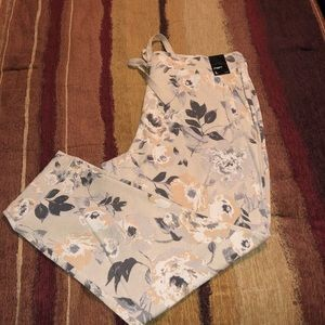 Pants - New York and Company Floral Jogger